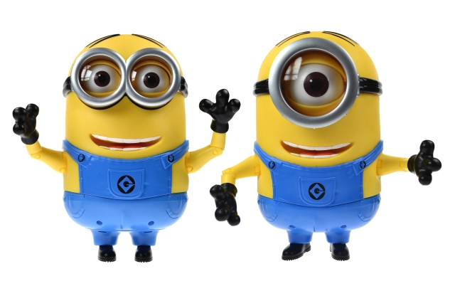 Image of switch adapted Despicable Me Talking Minions
