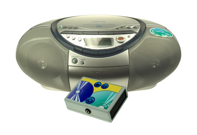 Sony CD Player with infra-red controller