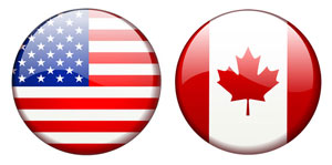 Clickable image of the US and Canadian flags that links to www.special-needs-toys.com